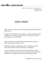 Misja-firmy